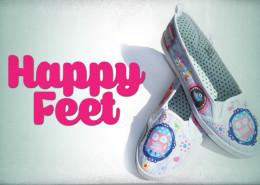 Happy Feet Custom Shoes