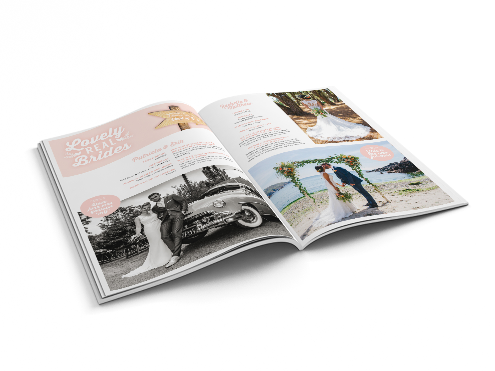 lovely real brides, Honeymoon shopping magazine